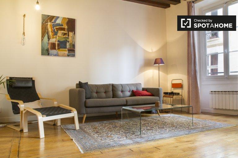 Apartamento de 1 dormitorio en alquiler en Odéon, Paris