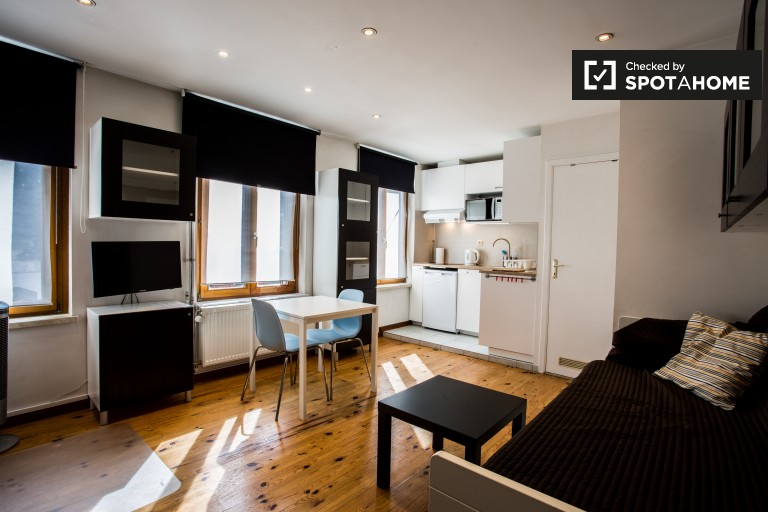 Studio apartment for rent in Jette, Brussels