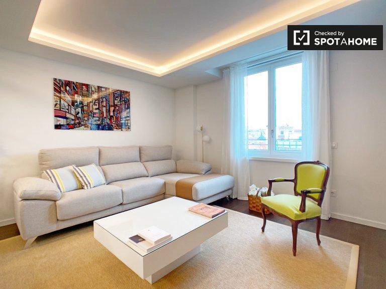 Apartamento de 1 quarto elegante para alugar em Malasaña, Madrid