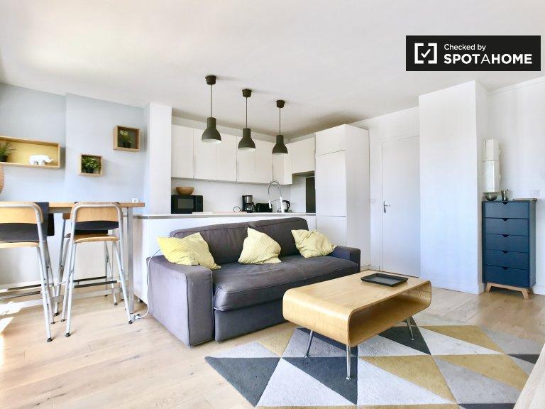 Apartamento de 1 quarto para alugar no 16º arrondissement, Paris