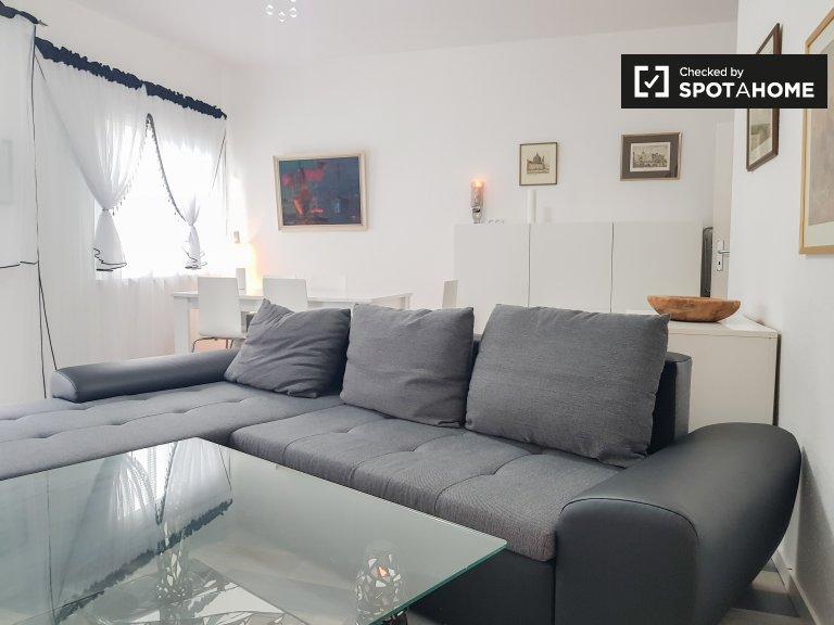 Apartamento genial con 1 habitación en alquiler en Wedding, Berlín