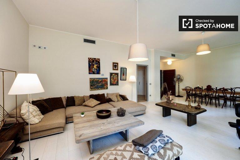 Precioso apartamento de 3 dormitorios en alquiler en Porta Venezia