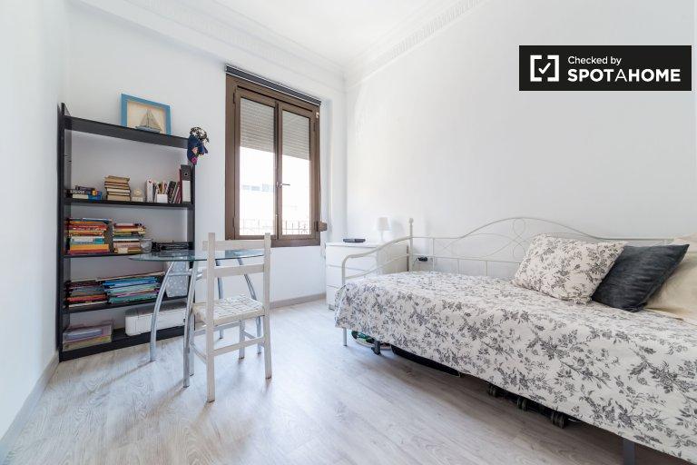 Quatre Carreres, Valensiya'da ortak kullanımlı evdeki ışık odası