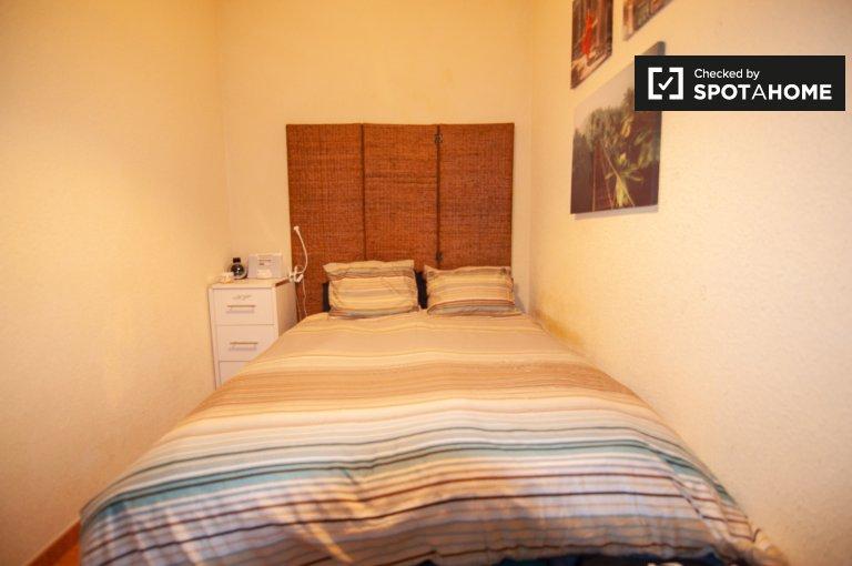Komfortowy pokój do wynajęcia, 2-pokojowe mieszkanie, Lavapies, Madryt