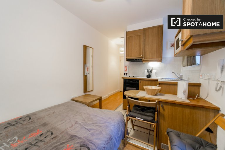 Studio apartment to rent in West Kensington, London