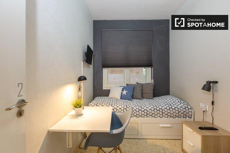 Pokój w mieszkaniu dzielonym w pobliżu Sagrada Familia, Barcelona