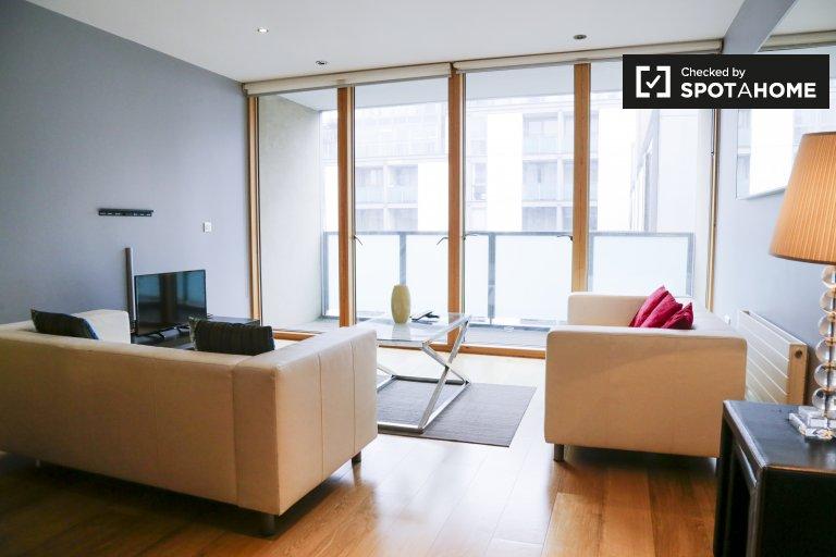 Apartamento moderno de 2 quartos para alugar em North Inner City, Dublin