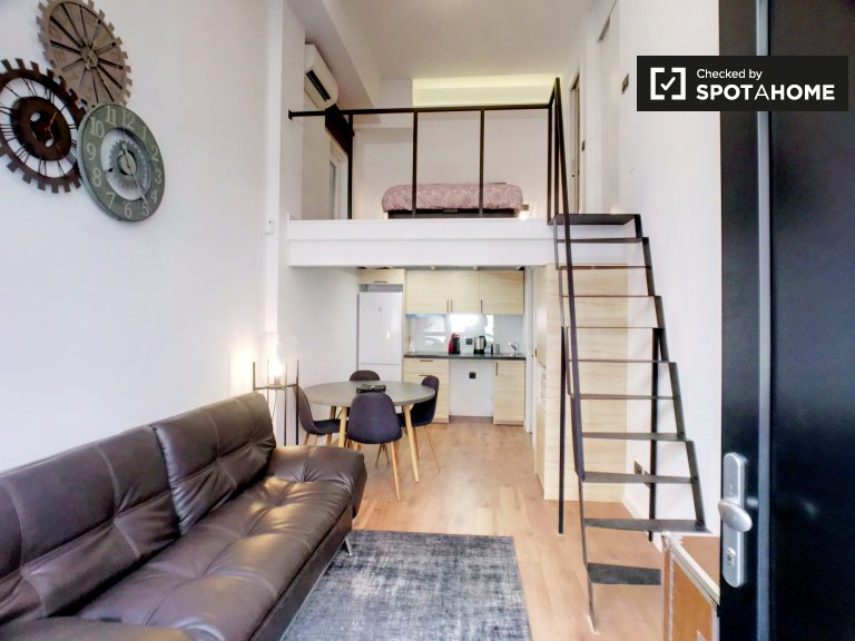 Lovely 1-bedroom apartment for rent in Tetuán, Madrid