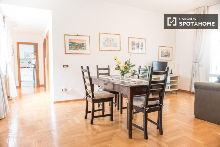 Appartement meublé avec Balcon et AC dans la zone Aurelio de Rome