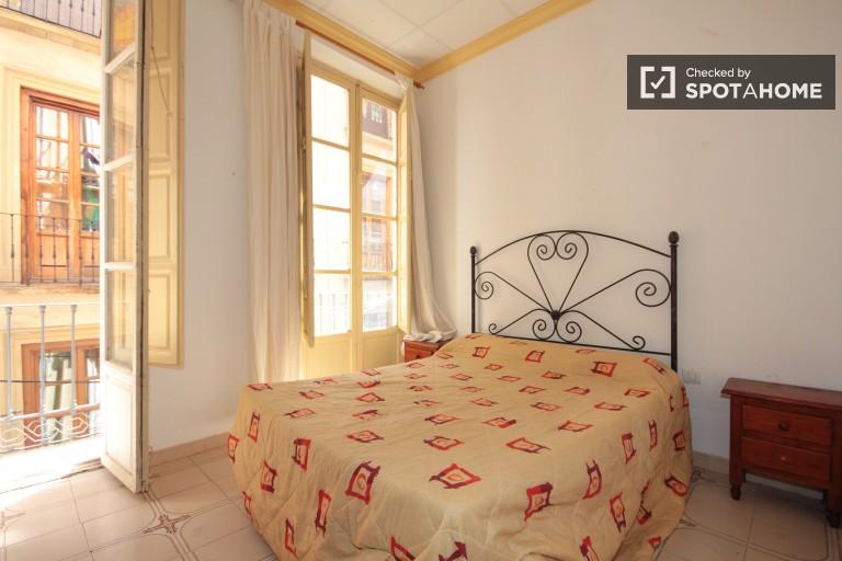 Sunny 2 bedroom apartment for rent in Granada city center