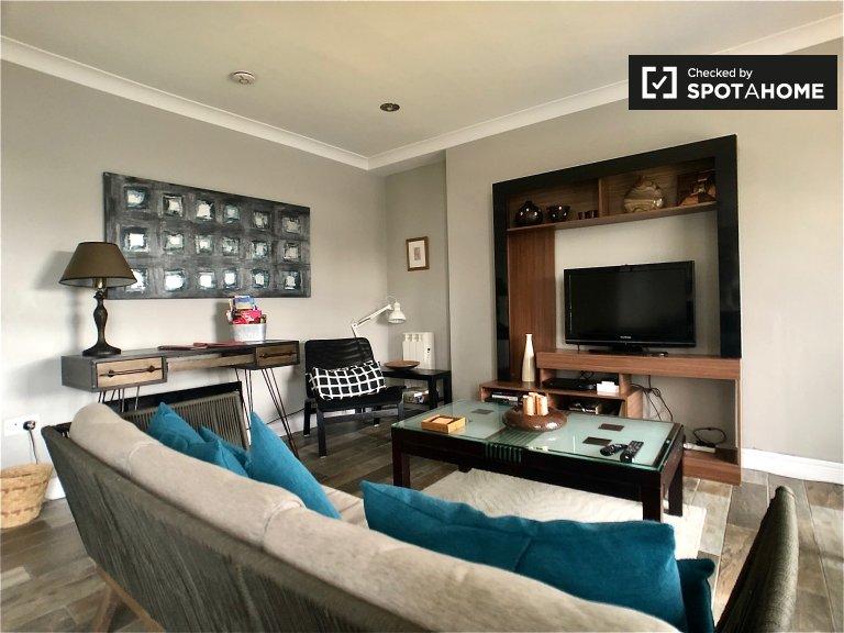 Modne mieszkanie z 3 sypialniami do wynajęcia w Stoneybatter w Dublinie