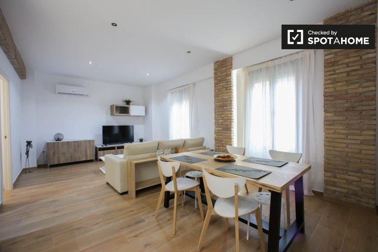 Nowoczesne 2-pokojowe mieszkanie do wynajęcia w L'Eixample w Walencji