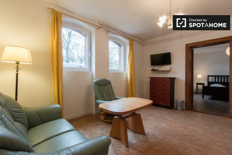 Apartamento de un dormitorio en alquiler en Lichterfelde Ost