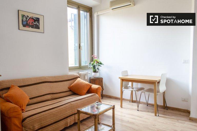 Chill appartement avec 1 chambre à louer à Pigneto, Rome