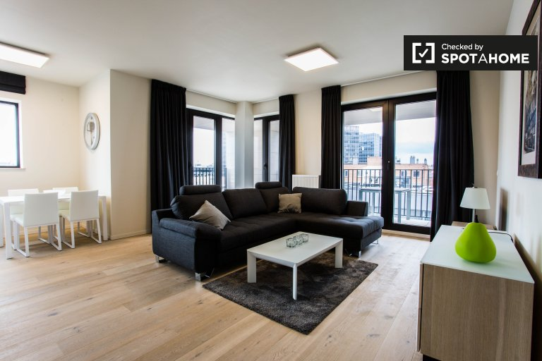 Gorgeous and modern 2-bedroom apartment for rent in central Brussels