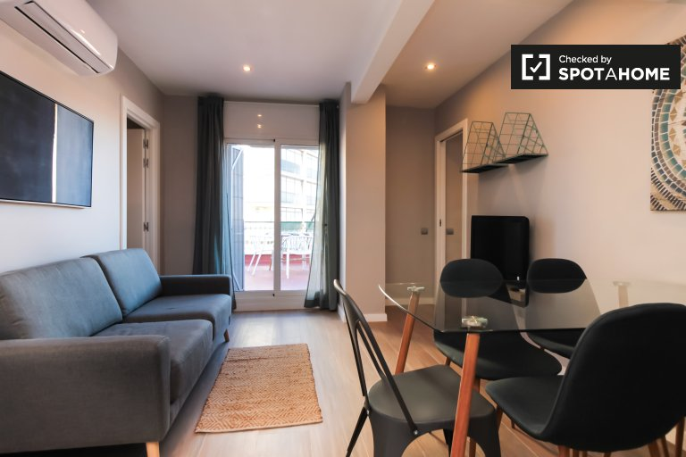 3-bedroom apartment for rent in Sant Andreu, Barcelona