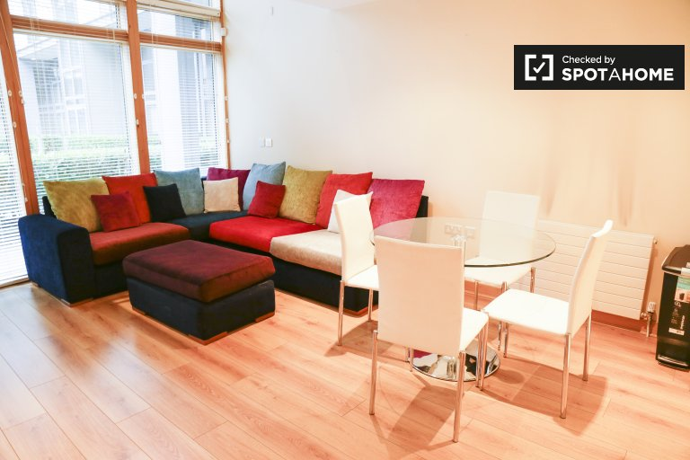 Serviced Studio Apartment in IFSC, Spencer Dock, Dublin 1