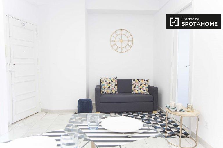 Parlak 2 yatak odalı daire kiralik - Avenidas Novas, Lizbon