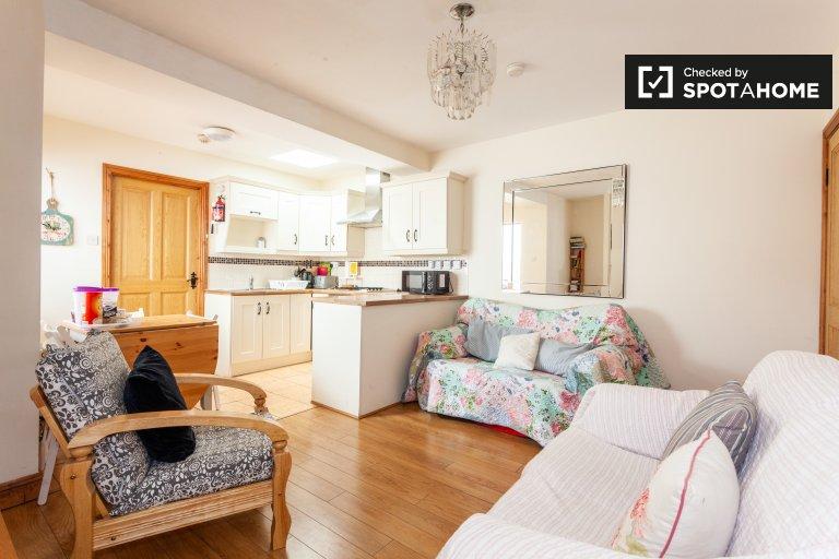 Tranquilla casa con 3 camere da letto in affitto a North Inner City, Dublino