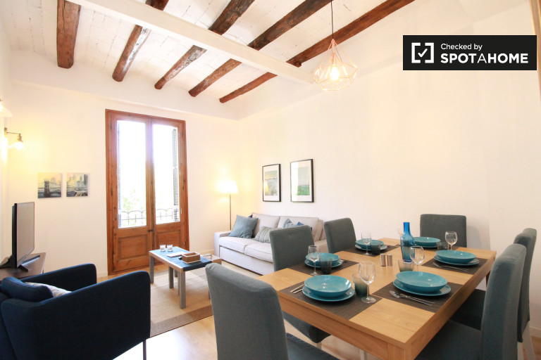 2-bedroom apartment for rent in Poble-sec, Barcelona