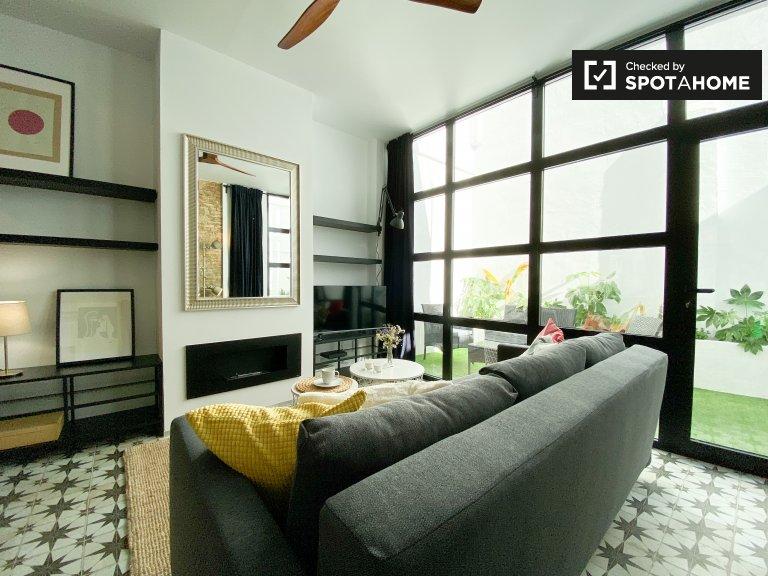 Elegante appartamento con 2 camere da letto in affitto, L'Olivereta, Valencia