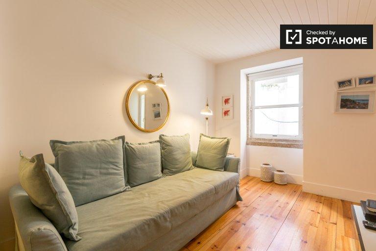 Sweet studio apartamento en alquiler en Misericórdia, Lisboa