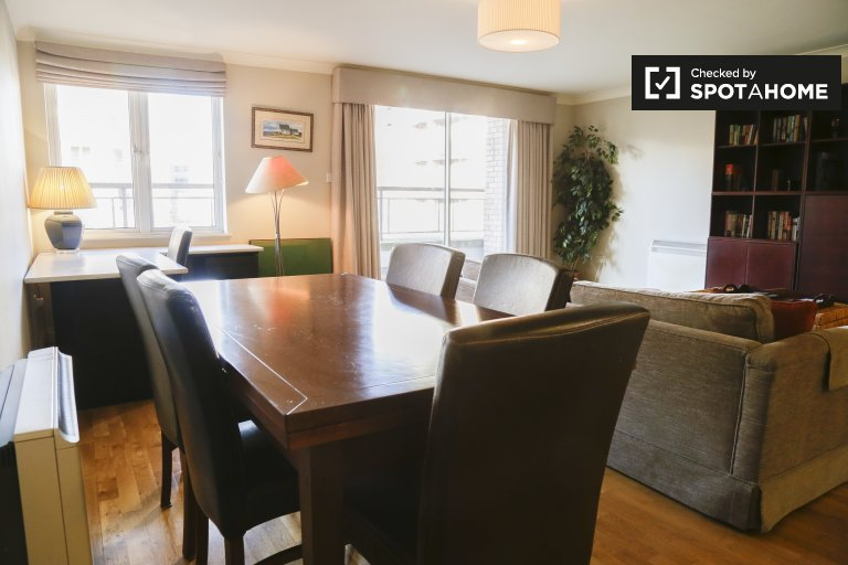 Serviced 1 Schlafzimmer Apartment in IFSC - Dublin 1