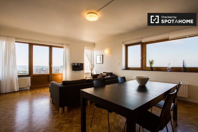 Appartamento con 1 camera da letto e balcone in affitto a Forest, Bruxelles