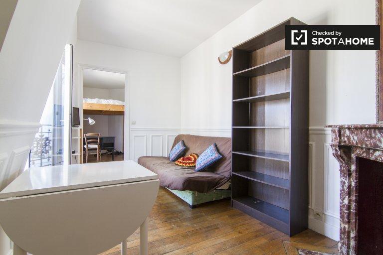 Grazioso appartamento con 1 camera da letto in affitto nel 15 ° arrondissement di Parigi.