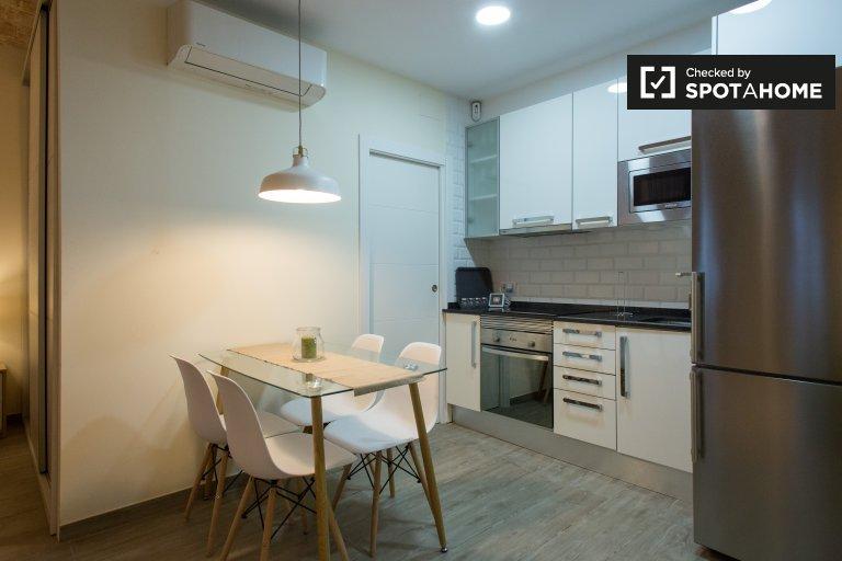 Apartamento de estúdio para alugar em Poblenou, Barcelona