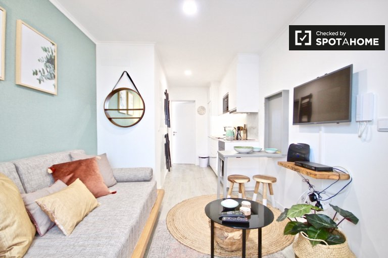 Stylish 1-bedroom apartment for rent in Alcântara, Lisbon
