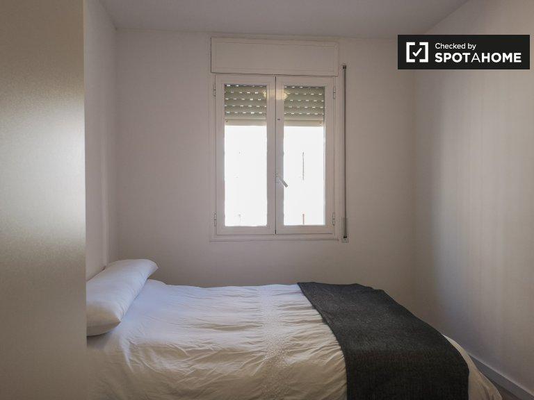 Doppelzimmer zu vermieten, 3-Zimmer-Wohnung, Sant Martí