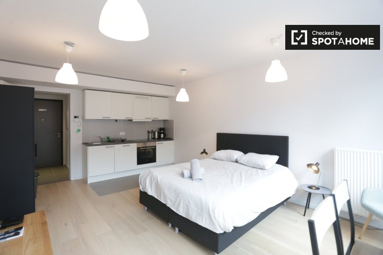 Studio-Apartment zu vermieten in Leopold Quarter, Brüssel
