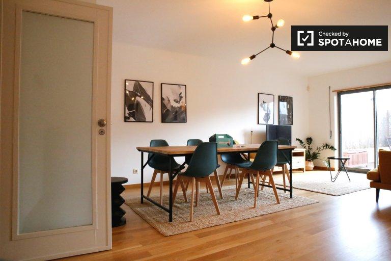 Słoneczny apartament do wynajęcia w Belém, Lizbona