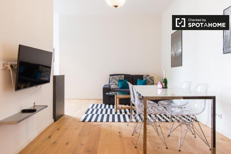 Wonderful 1-bedroom apartment for rent in Wedding, Berlin