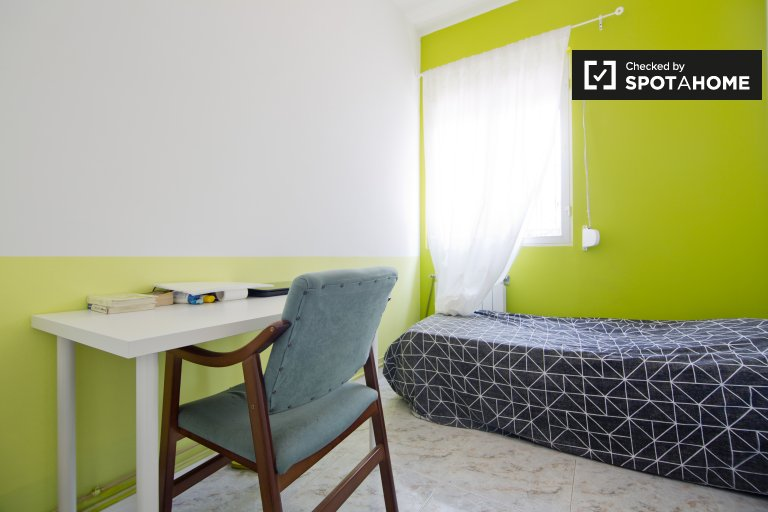 Ideal room in shared apartment in Puerta del Ángel, Madrid