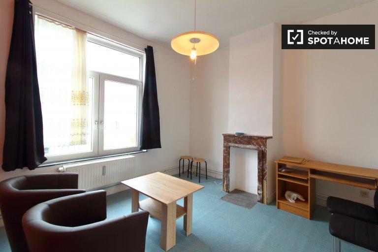 Calm 1-bedroom apartment for rent in Koekelberg, Brussels