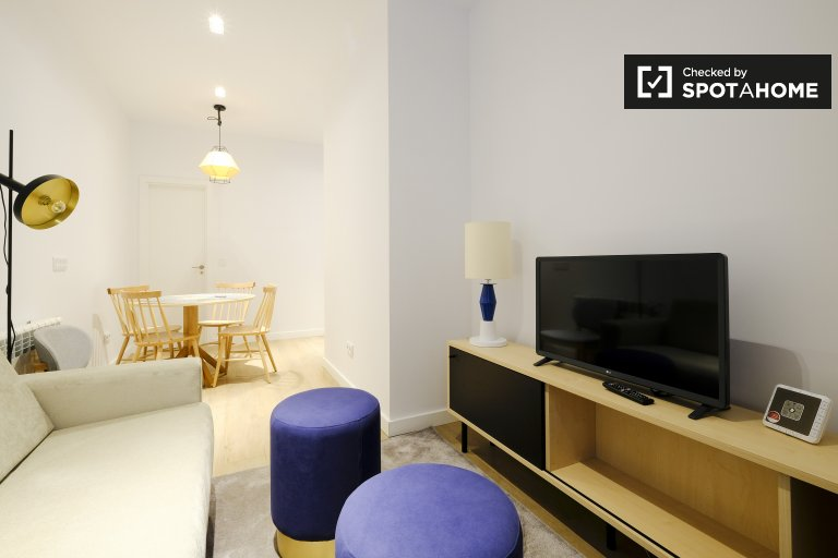 Wspaniały apartament z 1 sypialnią do wynajęcia w Atocha, Madryt