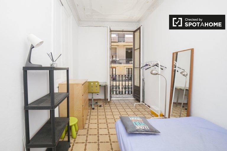 Chambre confortable à louer à l'Eixample, Barcelone
