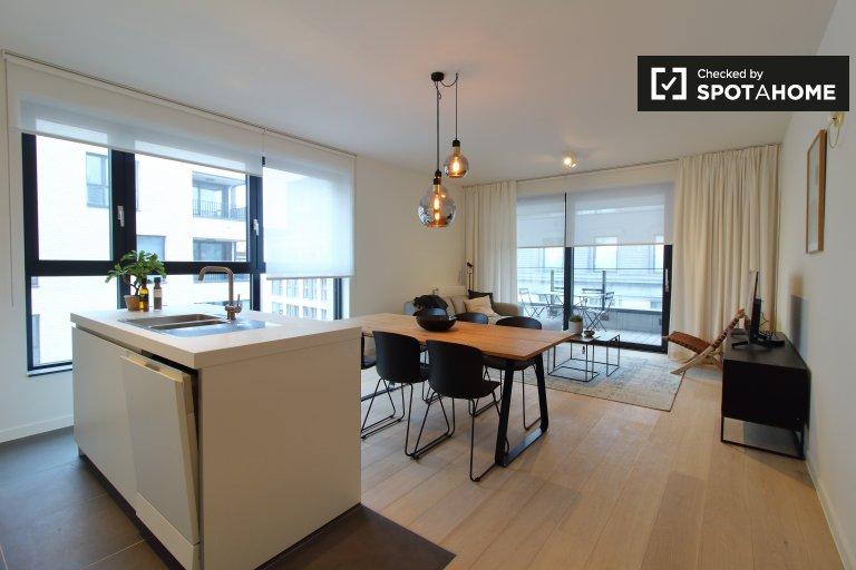 Przestronny apartament z 3 sypialniami do wynajęcia w Ixelles w Brukseli