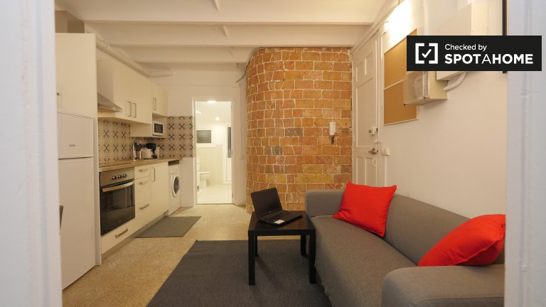 1-bedroom apartment for rent in Poble-sec, Barcelona