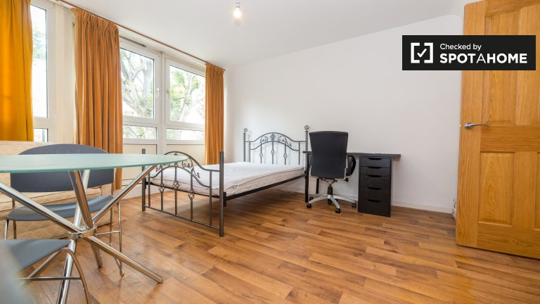 Large 4-bedroom flat to rent in Camden, London