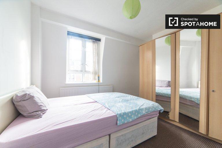 Quarto luminoso em apartamentos de 3 quartos em Southwark, Londres