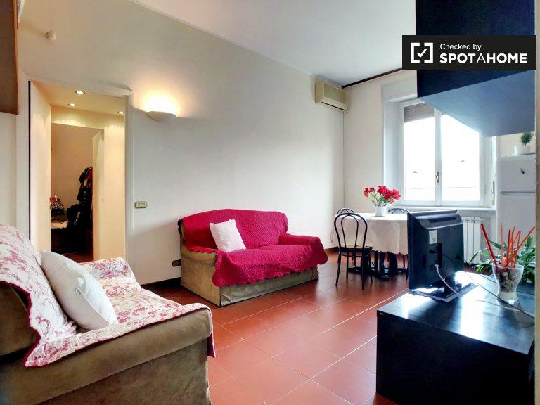 Apartamento de 1 quarto para alugar em Città Studi, Milão