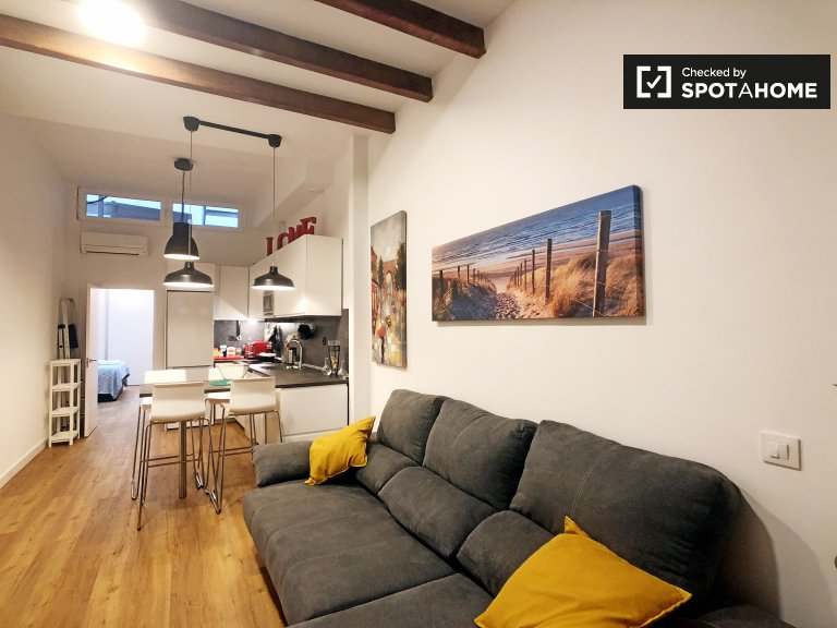 Lovely 1-bedroom apartment for rent in Malasaña, Madrid