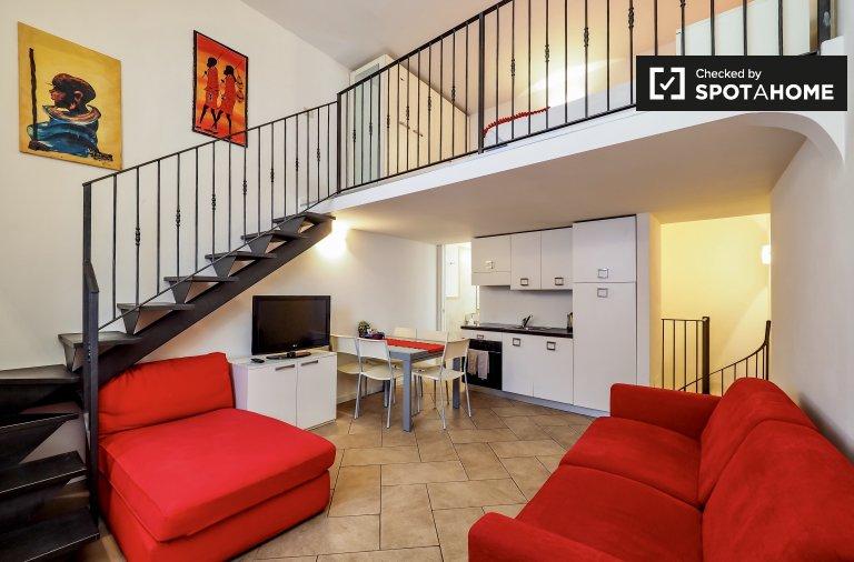2-Zimmer-Wohnung zur Miete in Bovisa, Mailand