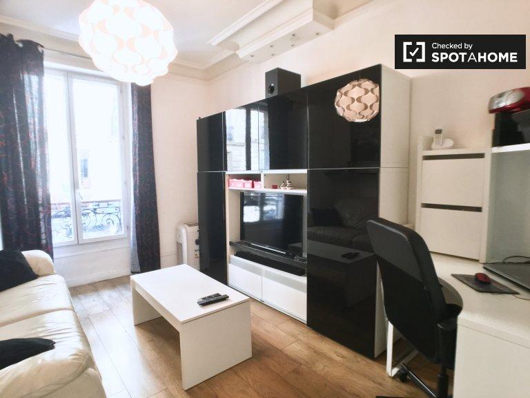 Apartamento de 1 dormitorio en alquiler, distrito XI, París