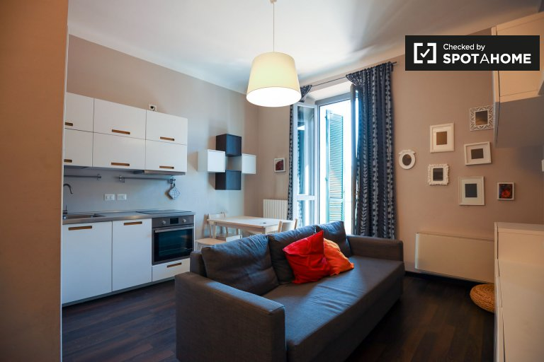 Chic 2-bedroom apartment for rent in Musocco, Milan