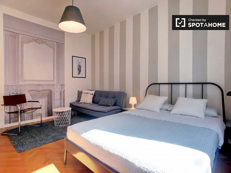 Stylish 1-bedroom apartment for rent in Porta Romana, Milan