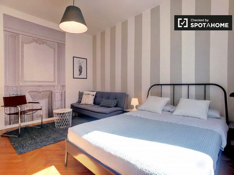 Elegante apartamento de 1 dormitorio en alquiler en Porta Romana, Milán